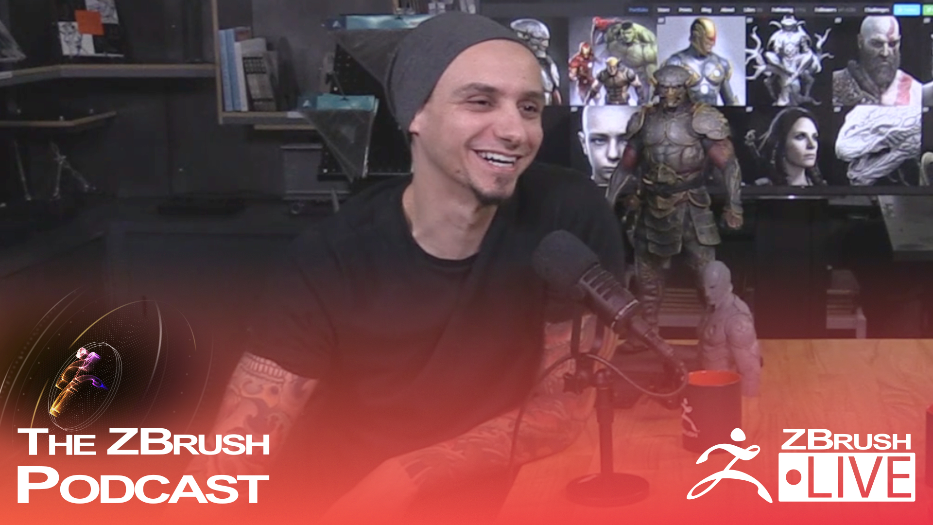 God of War Art Director Rafael Grassetti – The ZBrush Podcast Episode 24