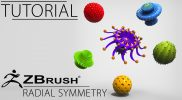 ZBrush Tutorial: Radial Symmetry