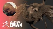 [UA & EN] Sculpting a Winged Monster Using ZBrush – Sadan Vague