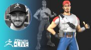 ZBrushCore: 3D Modeling Fortnite Fan Art – Pixologic Solomon Blair – Part 2