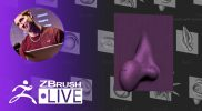 Did You Know That? LIVE – Pixologic Paul Goes Through Vector Displacement Meshes