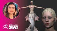 Sculpting, VR & Positivity – Ana Carolina Pereira – ZBrush 2020