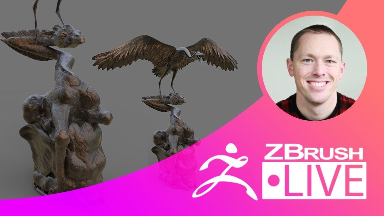ZFriends: Pass the Sculpt – Stephen Anderson – Episode 2
