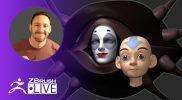 3D Model Aang & Koh the Face Stealer from Avatar #withme ! – Michael Pavlovich – Part 1