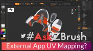 "#AskZBrush – ""How can I export a model for UV Mapping in an external application?"""
