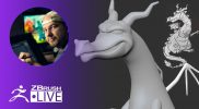 3D Model a Stylized Dragon #withme ! – Shane Olson – ZBrush 2020 – Part 1
