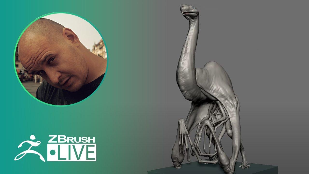 [UA & EN] 3D Model a 3D Creature #withme ! – Sadan Vague – ZBrush 2020 – Part 3
