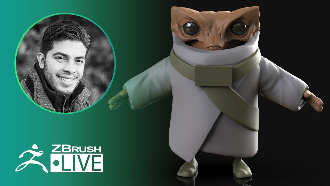 ZBrush Guides: 3D Model a New Character #withme ! – Pablo Muñoz Gómez – Part 4