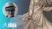 [JP]ZBrush 2020 – 3Dプリント用キャラクターの作り方 – Sakaki Kaoru