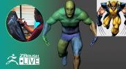 Mike T Artworks: 3D Model X Men Wolverine #withme ! – Mike Thompson – Part 2