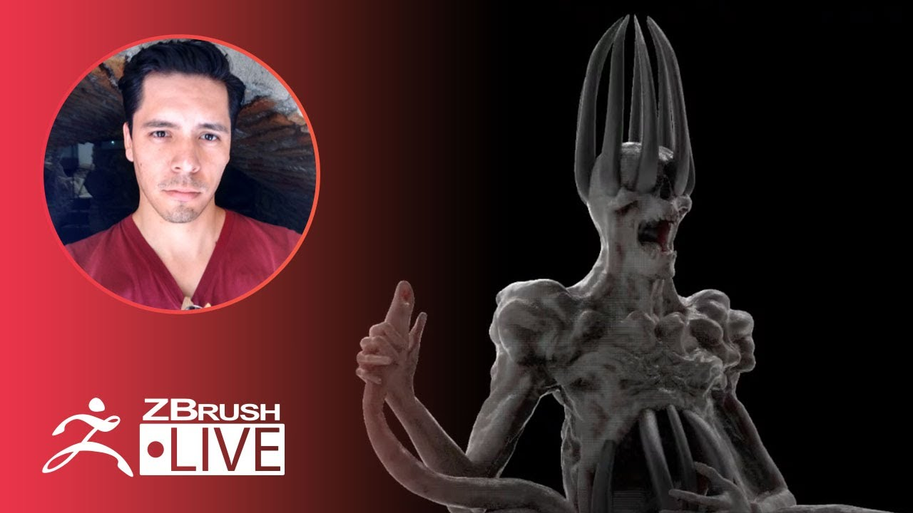 [ES-MX] 3D Model a Skeletal Character #withme ! – Óscar Trejo – ZBrush 2020
