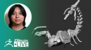 [JP&EN]ZBrushCore2020 – Making Mech Scorpion from Scratch with Pixologic Daisuke