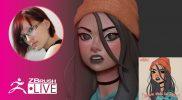 [RU] Создание стилизованных персонажей – Olya Anufrieva – ZBrush