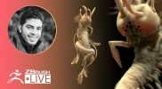 ZBrush Guides: Create a Wormy Creature #withme ! – Pablo Muñoz Gómez – Part 2