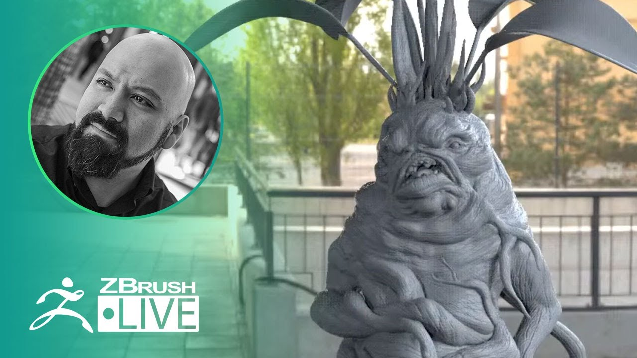 Design a Plant Character with ZBrush! – Miguel Guerrero – Part 2