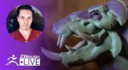 Speed Sculpt a Creature in 2 hours #withme! – Óscar Trejo – ZBrush 2020