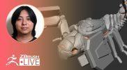 ZBrushCoreで1からメカ生命体を作ろう – Pixologic Daisuke Narukawa – Part 6