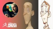 Create a Stylized Male Character Bust #withme! – Shane Olson – Part 1