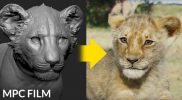 The Lion King VFX – Realistic Simba, Rafiki, & Pride Rock All Created in ZBrush – MPC, Disney