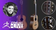 ZBrush Guides: 3D Model a Guitar #withme ! – Pablo Muñoz Gómez – Part 3
