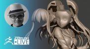 [JA] 3Dプリント用キャラクターの作り方 – Sakaki Kaoru – ZBrush 2021
