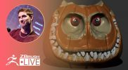 3D Model Soundwave from Transformers+ Jack O' Lantern #withme! – Pixologic Paul – Part 2