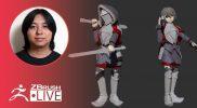 [JA & EN] ZBrushで剣士キャラを作ろう- Pixologic Daisuke Narukawa – Part 8