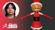 Making a Japanese Style Character Figure from Scratch – Pixologic Daisuke Narukawa – Part 2