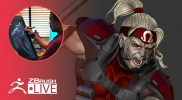 3D Model XMen's Omega Red in ZBrush #withme ! – Mike Thompson – Part 4