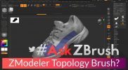 "#AskZBrush – ""How can I setup a ZModeler brush for retopology?"""