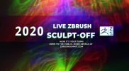 2020 LIVE ZBrush Sculpt-Off