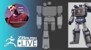 Block Out Soundwave from Transformers #withme! Did You Know That? LIVE – Pixologic Paul – Part 1