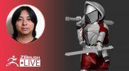 [JA & EN] ZBrushで剣士キャラを作ろう- Pixologic Daisuke Narukawa – Part 7