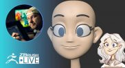 Start a New 3D Character #withme ! – Shane Olson – ZBrush 2021