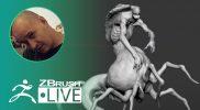 [UA & EN] Concepting a 3D Arachnid-Human  – Sadan Vague – ZBrush 2021