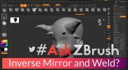 "#AskZBrush – ""How can I perform an inverse Mirror and Weld?"""