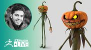 ZBrush Guides: Make a 3D Jack-O'-Latern #withme !- Pablo Muñoz Gómez – Part 2