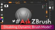 "#AskZBrush – ""How can I disable Dynamic Brush Mode across all brushes?"""