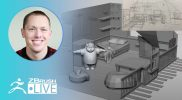 Create a 3D Scene from a Sketch #withme ! – Stephen Anderson – ZBrush 2021
