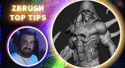 Use Extract, Draw size, Polygroup by Normals in Your Workflow! – ZBrush Top Tips – Franco Carlesimo