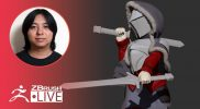 ZBrushで剣士キャラを作ろう – Pixologic Daisuke Narukawa – Part 9