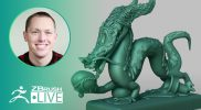 Sculpt a Stylized Dragon in ZBrush #withme ! – Stephen Anderson – ZBrush 2021.5