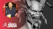 Character Art for Video Games: Krampus – Brendon Isaiah Bengtson – ZBrush 2021.5