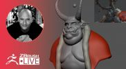 Sculpting with Andre Ferwerda – ZBrush 2021.5