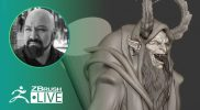 Create Krampus in ZBrush #withme! – Miguel Guerrero – ZBrush 2021.5