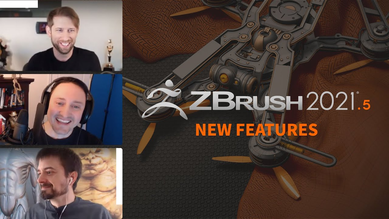 ZBrush 2021.5 Live Streaming Event