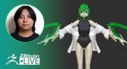 Making a Cyborg with Mantis Blades – Pixologic Daisuke Narukawa – ZBrush 2021.5