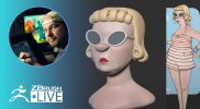 Sculpt a 3D Stylized Female Character #withme ! – Shane Olson – ZBrush 2021.5