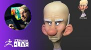 Sculpting Stylized Characters: Old Man – Shane Olson – ZBrush 2021.5