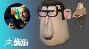 Sculpt Pixar Style Characters #withme ! – Shane Olson – ZBrush 2021.5